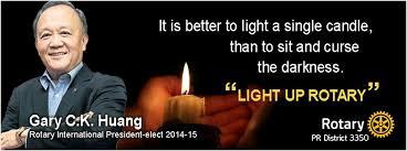 Light up Rotary